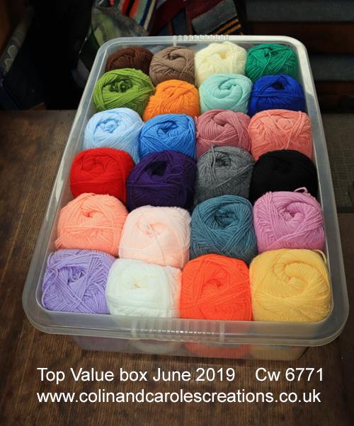 James C Brett Top valve yarn