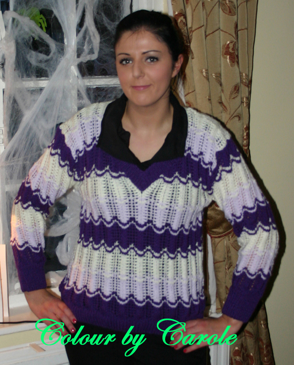 Ladies Lacey jumper