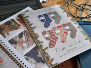 WYS Christmas sock 2020 pattern book.