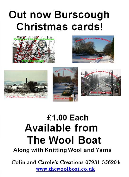 Christmas card Advert